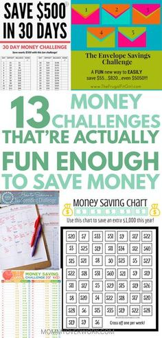 Motivation to make saving money fun with MONEY CHALLENGES & printables. Great variety to keep up for entire year, including 52 week, biweekly, daily 365, & 30 day monthly ideas to save. Doesn't matter if for change, penny, nickel, dimes, quarters, 5 dollars, 1000 5000, 10000, bound to have a challenge for you from easy to extreme. Can do as families with kids or teens #moneytips #moneysaver #moneysavingideas #freeprintables #printable #budget #budgeting #budgetfriendly #30daychallenge
