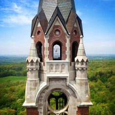 Mb Squared Photography - Holy Hill Scenic Tower, Hubertus, WI by Michael Burmesch on Capture Wisconsin // 178 stairs to the top... Well worth it for this breathtaking panorama of the Kettle Moraine far below and beyond. #Wisconsin #Photo #Photography