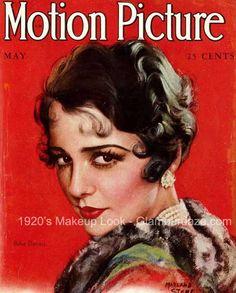 Flapper Makeup | 1920's-Flapper-Makeup--Bebe-Daniels