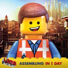 #TheLEGOMovie hits theaters tomorrow! http://www.fandango.com/thelegomovie3d_170069/movieoverview