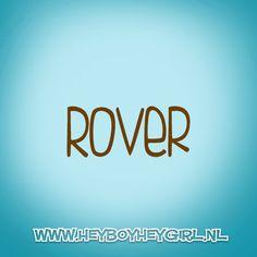 Rover (Voor meer inspiratie, en unieke geboortekaartjes kijk op www.heyboyheygirl.nl)