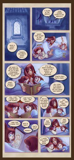 Webcomic - TPB - Chapter 1 - Page 3 by Dedasaur.deviantart.com on @deviantART