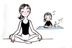 15 Yoga Expectations Vs Reality Comics Which Are So Relatable To All Yoga Lovers Kundalini Yoga, Yin Yoga, Yoga Facts, Yoga Illustration, Yoga With Adriene, Upward Facing Dog, Crow Pose, Expectation Vs Reality, Watercolor Projects