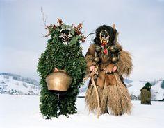 Michael Höhener & Marcel Langenauer, Urnäsch, 13. Januar, Appenzell, Schweiz, photo: Mathias Braschler, Monika Fischer