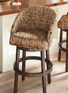 Sanders Bar Amp Counter Stool Wicker Pull Up And Texture