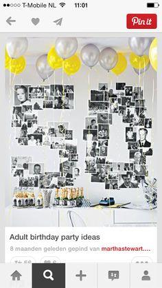 Versiering voor een verjaardag