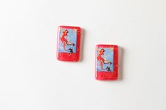 Confetti Lucite Earrings - Pinup · Flirty Foxx Designs · Online Store Powered by Storenvy
