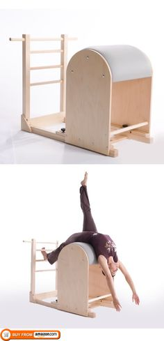 Ladder Barrel, Complete your studio with a Balanced Body Pilates Ladder barrel for core strength and Studio Pilates, Le Pilates, Pilates Body, Yoga For Flexibility, Flexibility Exercises, Core Exercises, Pilates Equipment, No Equipment Workout, Yoga Information