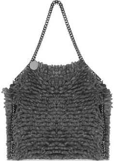 Stella McCartney Alpaca Falabella Bag - Feel warm & cozy just looking at it!