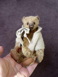 Tadhg, One Of a Kind Mohair Artist Bear by Aerlinn Bears