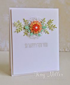 my favourite things doily card images - Google Search