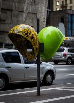 São Paulo's Crazy Phone Booth Public Art Project
