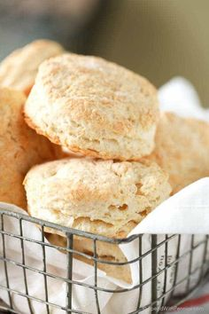 Homemade Buttermilk Biscuits are a staple around here! Layer upon layer of flaky buttery biscuits served warm out of the oven. These biscuits are one of our favorite sides and go perfectly with any meal, savory or sweet! Add cheese or a sprinkle of sugar on top.
