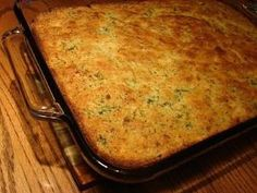 Broccoli Cornbread - this is so good and moist. Always get asked for the recipe. ~Suz by aileen