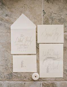 Signora e Mare organic lettering and calligraphy. www.signoramare.com