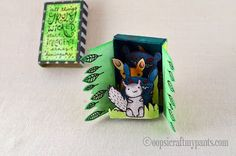 Oops, I Craft My Pants: Wicked Forest Altered Matchbox