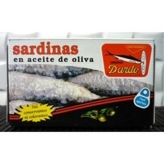 Sardinas en aceite de oliva RR-125, 3/4u. Dardo