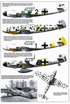 Bf 109 G, G12 and K variants (1) | Flickr - Photo Sharing!
