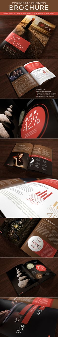 Corporate Business Brochure on Behance
