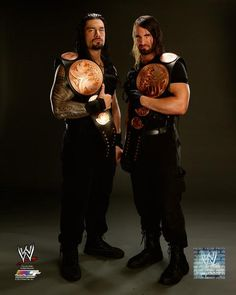 roman reigns wwe the shield | The Shield (WWE) Roman Reigns and Seth Rollins