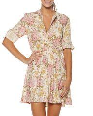 WRANGLER ROSE HIGHWAY DRESS - OFF WHITE