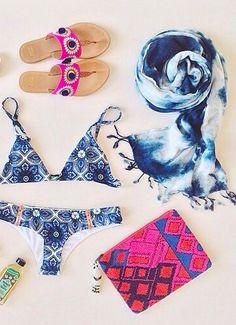 Beach paraphernalia =)) -  (Discover Sojasun Italian Facebook, Pinterest and Instagram Pages!)