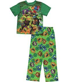 Teenage Mutant Ninja Turtles Boys Poly Pajamas (6, TMNT Green) Teenage Mutant Ninja Turtles http://www.amazon.com/dp/B0199FR9Z0/ref=cm_sw_r_pi_dp_OmA3wb19J7XN3
