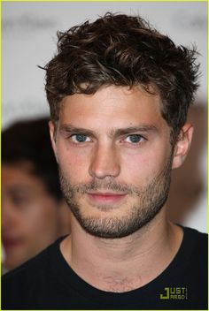 Jaime Dornan.  There's just something about an Irish man that makes me melt.