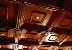 How to install coffered ceiling 2019 with your own hands with new coffered ceiling designs and coffered ceiling ideas for any room, what is the coffered ceiling cost, coffered ceiling designs with lighting ideas and the best-coffered ceiling materials Ceiling Tiles, Ceiling Design, Ceiling Lights, Village House Design, Village Houses, Ceiling Materials, Under Stairs Cupboard, Ceiling Installation, Coffer