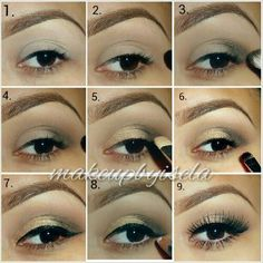 Simple makeup tutorial to add a little drama to the nude face Makeup Pictorial, Easy Makeup Tutorial, Makeup Tutorials, Makeup Ideas, Makeup Tricks, Hair Tutorials, Blending Eyeshadow, Eyeshadow Primer, Purple Eye Makeup