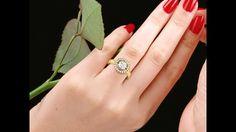 """טבעת יהלומים -מק""""ט:D38225-1"""