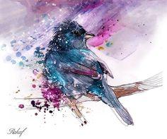 """""""Bird 2013"""" © Rahaf Art"""