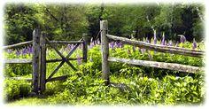 garden gates,