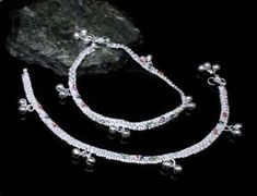 Silver Anklets, Silver Jewelry, Anklet Jewelry, Semi Precious Gemstones, Jewelry Sets, Pairs, Jewels, Detail, Bracelets