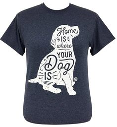 Girlie Girl Originals Where Your Dog is Heather Navy Short Sleeve T-Shirt Branded T Shirts, Custom Shirts, Simply Cute Tees, College Shirts, Preppy Southern, Navy Shorts, Dog Shirt, Navy Women, Cool Shirts