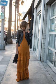 L.A long dress