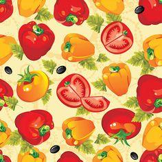 Pattern verduras