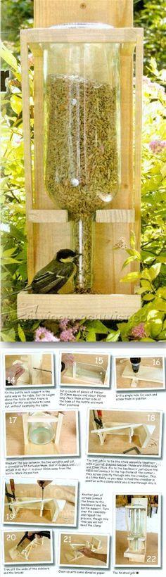 DIY Bird Feeder - Outdoor Plans and Projects   WoodArchivist.com