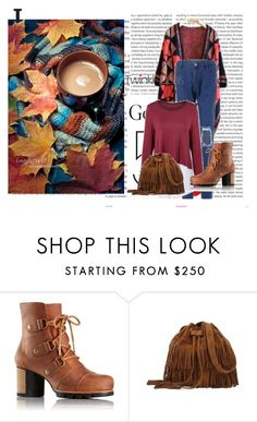 """""""Fall"""" by zina1002 ❤ liked on Polyvore featuring Oris and SOREL"""