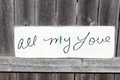 Handwriting Sign Custom Memorial Sign by TorreysTouches on Etsy