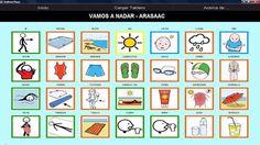 AraBoard: conjunto de herramientas diseñadas para la comunicación alternativa y aumentativa, cuya finalidad es facilitar la comunicación funcional, mediante el uso de imágenes y pictogramas, a personas que presentan algún tipo de dificultad en este ámbito.