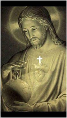 King of the Universe Catholic Art, Religious Art, Roman Catholic, Jesus E Maria, Heart Of Jesus, Divine Mercy, Jesus Pictures, Mother Mary, Cristiano