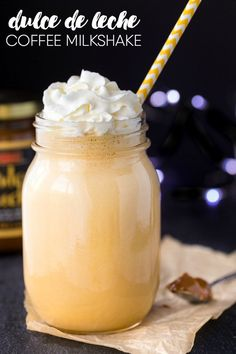 Dulce de Leche Coffee Milkshake - Satisfy your coffee cravings AND ...