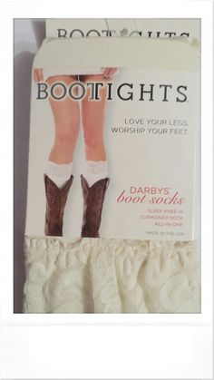 Darbys boot socks - Cowgirl Country Bridesmaids - 1