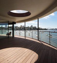 Sydney Harbour Luigi Rosselli Architects | © Justin Alexander #LuigiRosselliArchitects #LuigiRosselli #Architecture