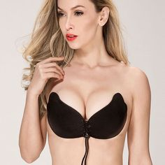 21866a449c Wings-Lacing Stickeebra Backless Bra