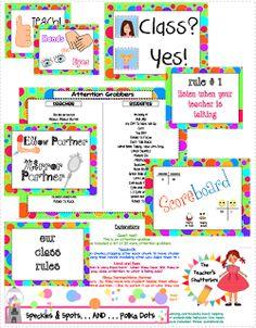 The Teacher's Chatterbox: Whole Brain Teaching Pack...FREEBIE!!!