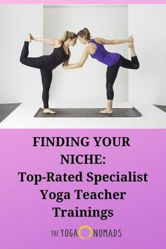 Finding your Niche: Top-Rated Specialist Yoga Teacher Trainings. As a yoga teacher, finding a niche that you love can greatly expand not only your teaching skills, but also your potential income streams. Read here to learn more. Teaching Skills, Teaching Jobs, Yoga Poses For Digestion, Meditation, Workshop, Yoga Breathing, Travel Yoga Mat, Journey, Online Programs