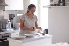 In the kitchen of Avec Sofie