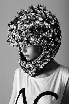 Helmet Bling.